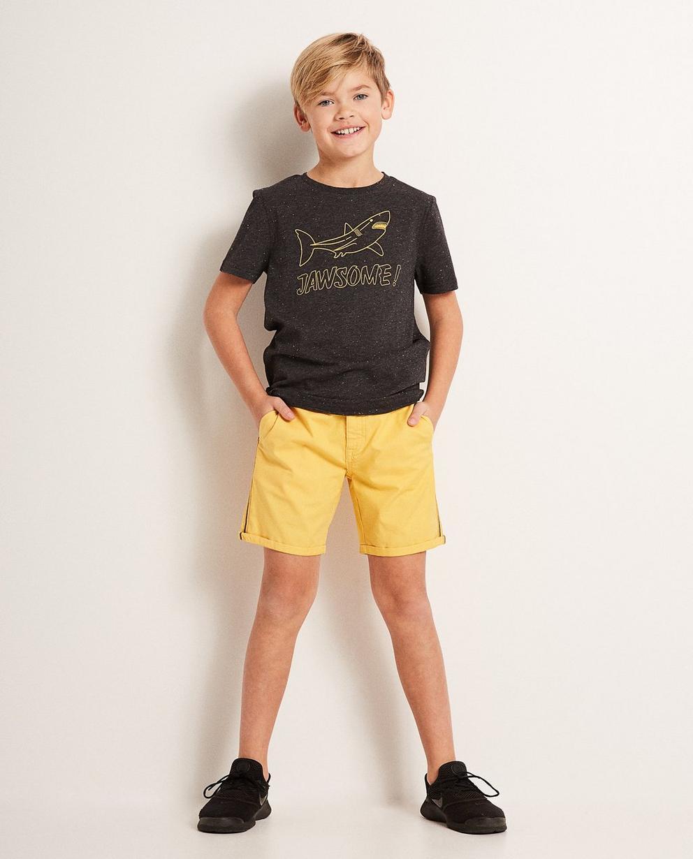 Shorts mit Streifen, 7-14 Jahre - aus Baumwolle - JBC